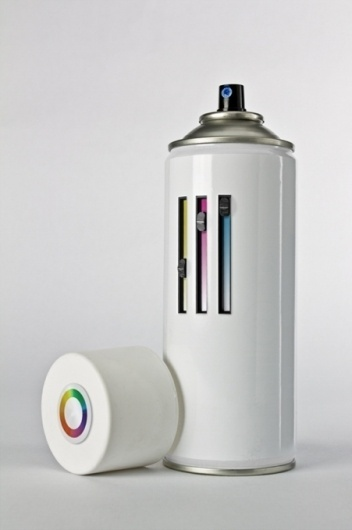 http://pinterest.com/pin/207376757811432864/ #colour #can #spray