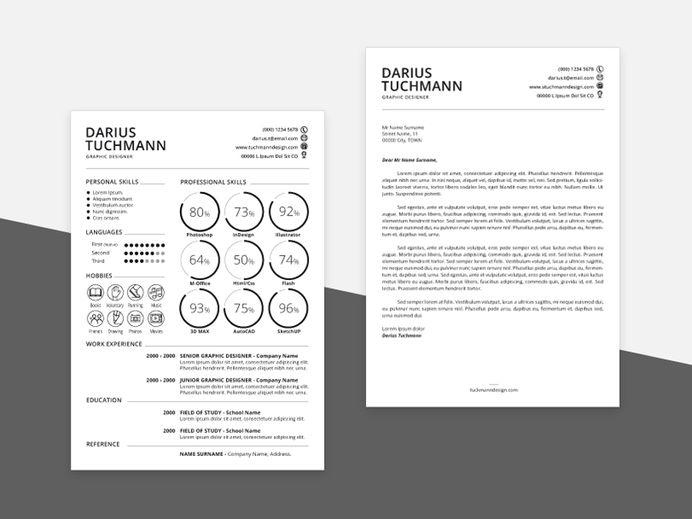 best free template resume minimal cv images on designspiration