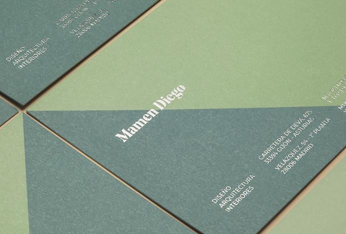 Mamen Diego by Atipo #brand design #stationery #colourful