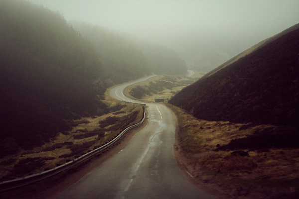 Five hundred miles #photo #fog #road