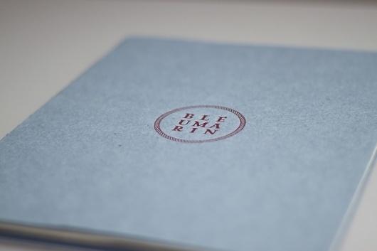 BLEU MARIN on the Behance Network #of #book #marin #poetry #bleu