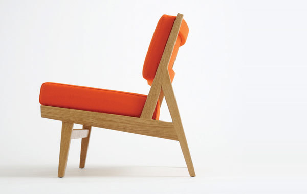 Jens Risom modern chair #chair #industrial #design