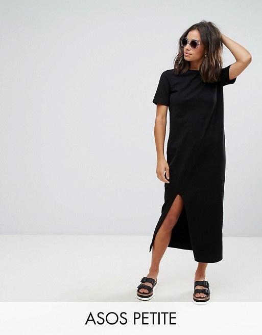ASOS Petite   ASOS PETITE – Ultimate – T-Shirt.Maxikleid