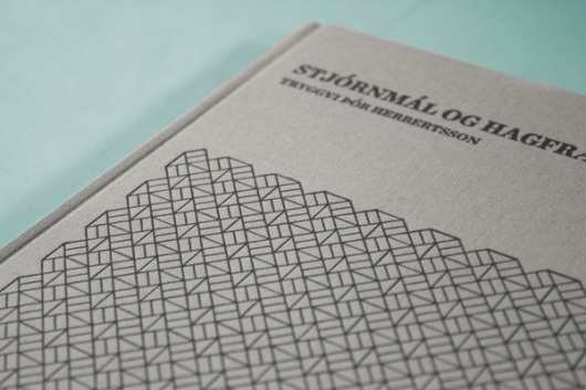 Book design on the Behance Network #pattern #book #cover #iceland #modernism