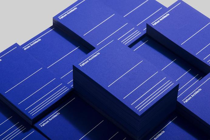 New Fathom Architects Branding corporate dnco- design minimal inspiration www.mindsparklemag.com