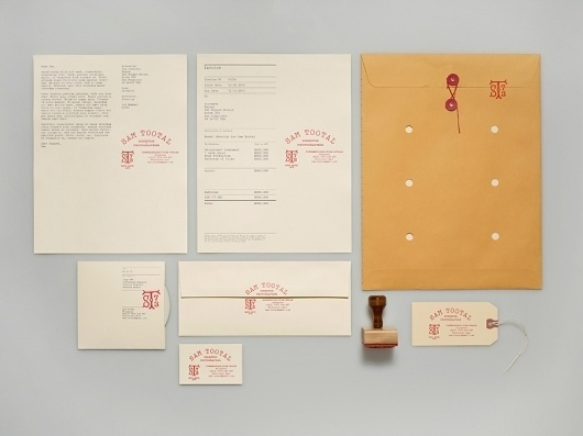 Manual - Sam Tootal #print #design #graphic #block #identity #manual #stationery #foil