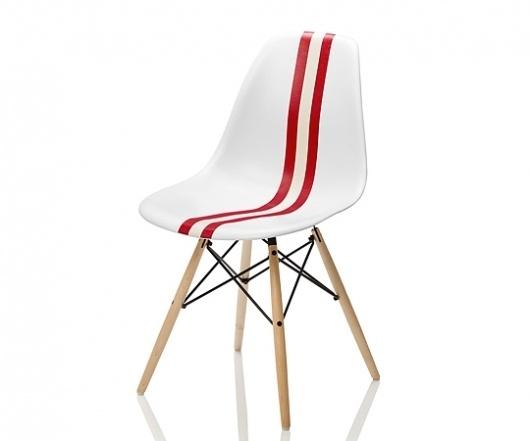 cielbleu   Bally Meets Herman Miller – Eames Chair #furniture #eames
