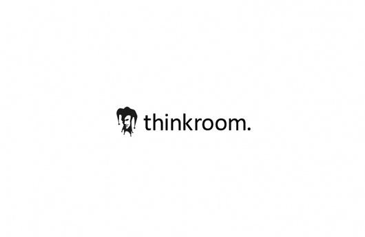 Logos : MORITZ GEMMERICH #think #white #black #hat #and #caspar #logo #fool #dot #room
