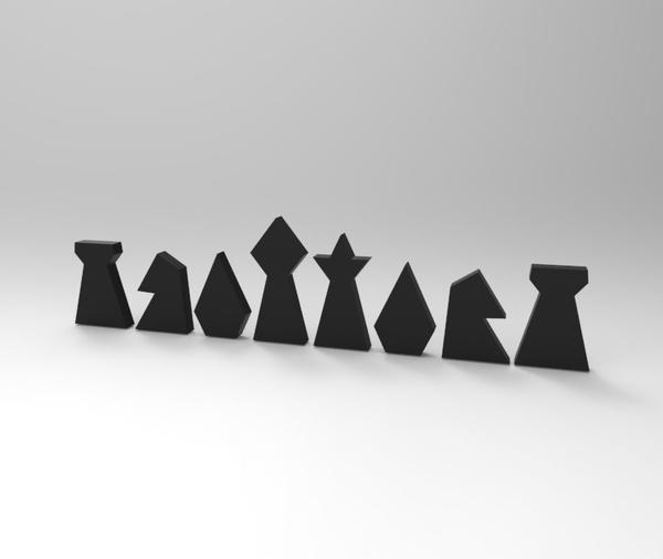 Check it Out Chess Set Design by Céline Goormachtigh #interior #design #decor #home #furniture #architecture