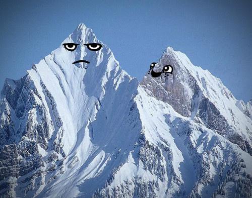 Tumblr #photo #angry #mountain #smile