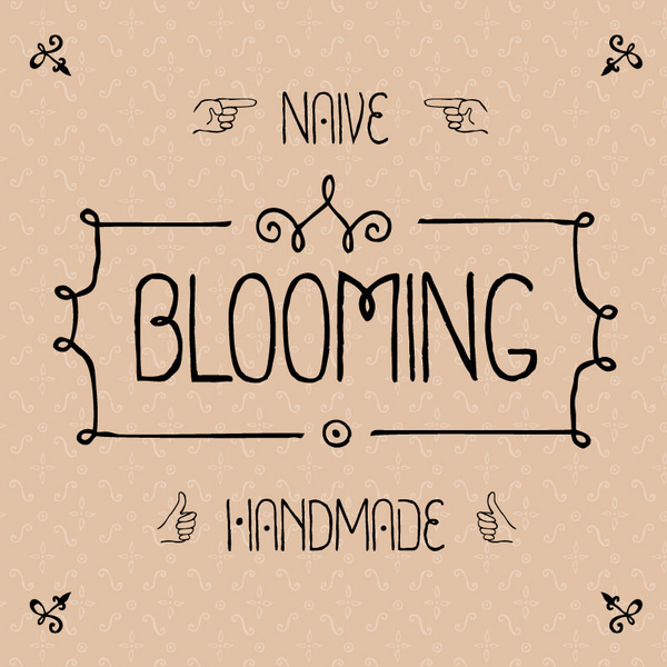 Blooming font on the Behance Network #type #font #gaslight