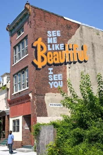 A Love Letter For You » Murals #large #illustration #format #typography