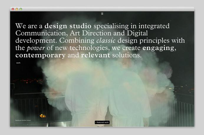 Websites We Love — Showcasing The Best in Web Design #design #website #minimal #webdesign #typography