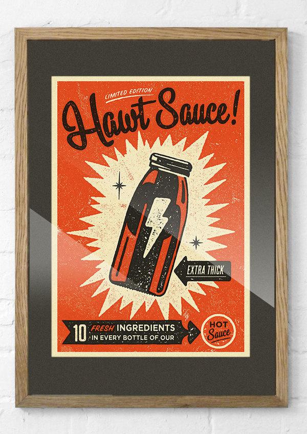 Hawtsauce #print #poster