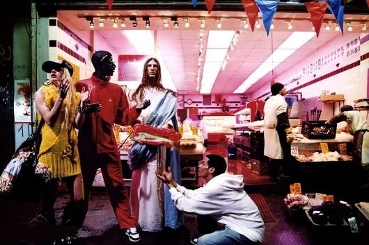 Jesus is My Homeboy   Paranaiv / Are Sundnes #jesus #city #david #lachapelle