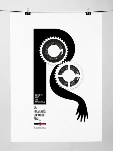 Segur #print #design #black #letter #illustration #poster #cartel #hand