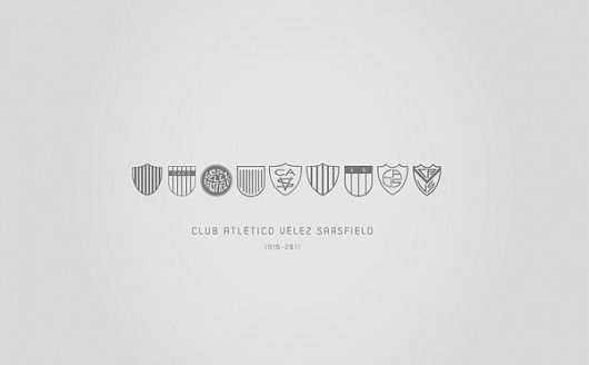 Project 2020 / Vélez Sarsfield Athletic Club™ on the Behance Network #logo #branding