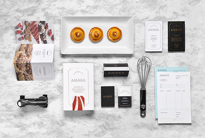 Amara by Firmalt #print #labels #menu # business card