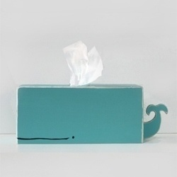 Super Cute Whale Tissue Holder From Gnomesweeeetgnome. - #38185 - NOTCOT.ORG