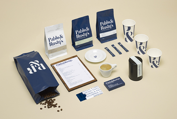 Pablo & Rusty's by Manual #coffee #packaging