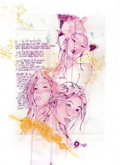Monsieur Deez #illustration