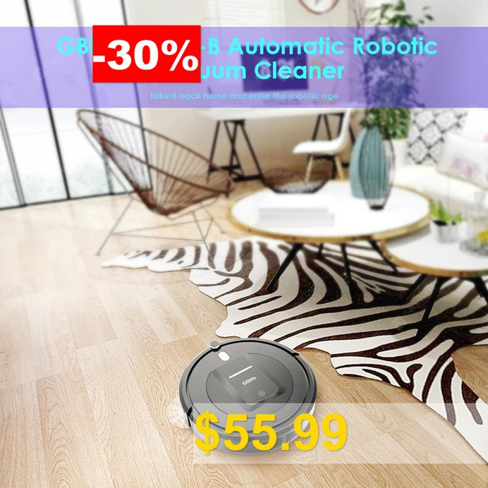 GBlife #KK290 #- #B #Automatic #Robot #Vacuum #Cleaner #with #Remote #Scheduling