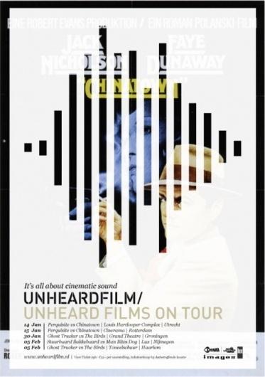 Design Fodder (Unheard Film Festival posters by 178 Aardige...)