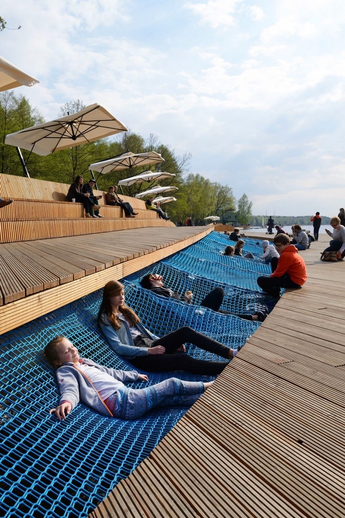 The Promenade – Redevelopment of the East Side Paprocany Lake Shore