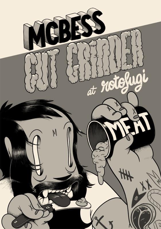 mcbess 2D #illustration #lettering #mcbess
