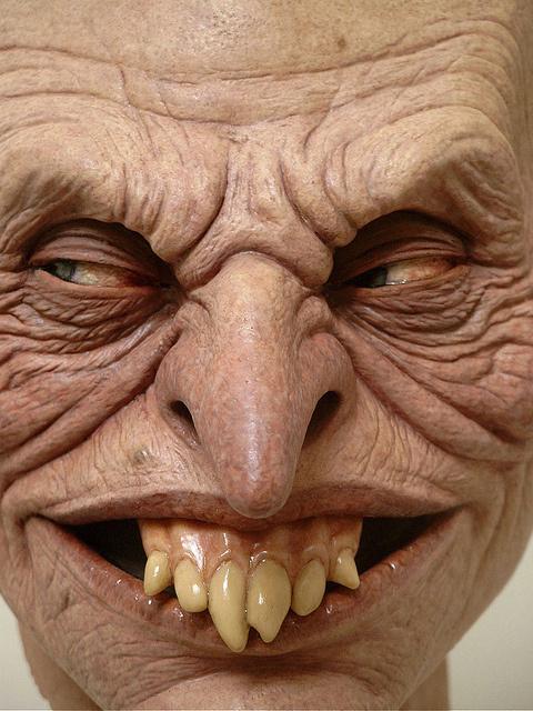 Jordu Schell / Schell Sculpture Studios - Leprecaun #teeth #sculpture #horror #leprecaun #leprechaun #scary