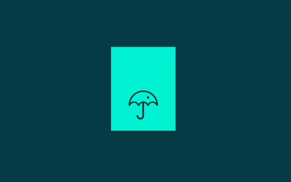 Umbrella on Branding Served #symbol #logo #identity