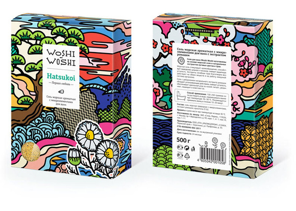 WoshiWoshi - The Dieline #packaging
