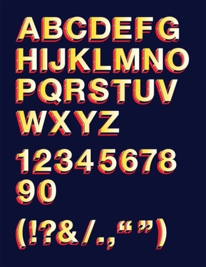 Helvetica Circus on the Behance Network #typography