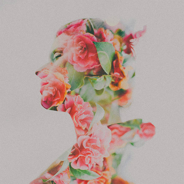 Double Exposure Portraits by Sara K Byrne #exposure #digital #photography #double #art