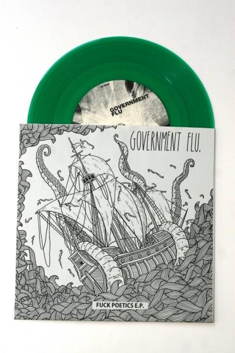 Government Flu #flu #vinyl #ship #ryski #dawid #green