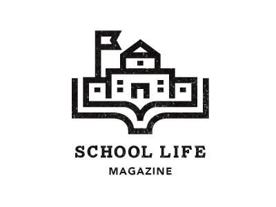 School life 1 #lines #school #thick #book #mcbride #logo #brooklyn #andrew