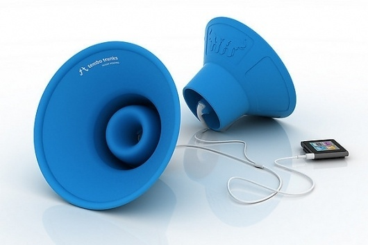 Tembo Trunks - Earbud Speakers by Scott Norrie — Kickstarter #speakers #kickstarter