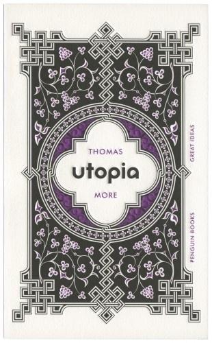 The Book Cover Archive: Utopia, design by David Pearson #wedding #book