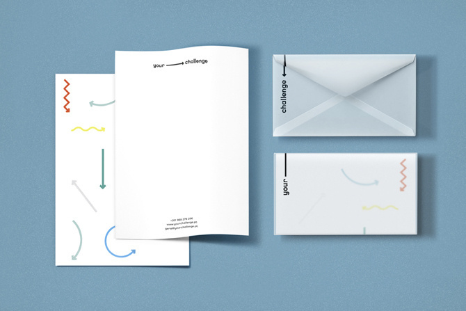YOUR CHALLENGE - studioahha #print #head #letter #envelope #stationery