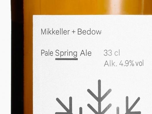 Bedow — Examples of Work — Packaging, Mikkeller #packaging #type #branding
