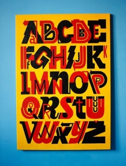 Typeverything.com ABC Street Fonts Book by... - Typeverything #typography