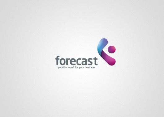 Forecast on the Behance Network #logo