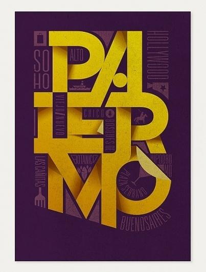 Image Spark - Gazolla #design #soho #buenos #palermo #poster #aires #typography