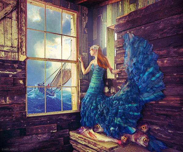 Surreal Fashion Photography by Miss Aniela #aniela #photography #fashion #surreal #miss