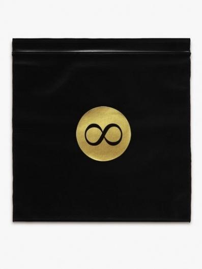Mr L'Agent - DIY #print #sleeve #black #symbol #gold #diy #cd