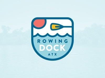 Rowing Dock #badge