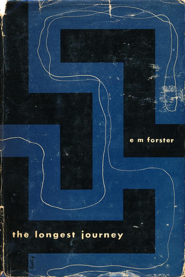 All sizes | The Longest Journey cover by Alvin Lustig | Flickr Photo Sharing! #alvin #modern #lustig #mid #century