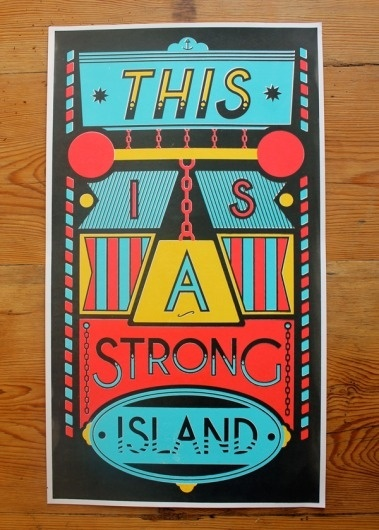 Strong Island #strong #sharp #george #island #illustration #type