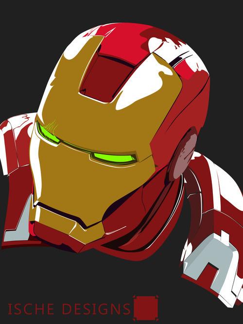 Iron Man Demon - IscheDesigns #designs #iron #demon #ische #man #ironman