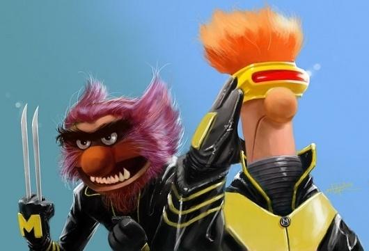 X-Muppets on yay!everyday #illustration #muppets #men